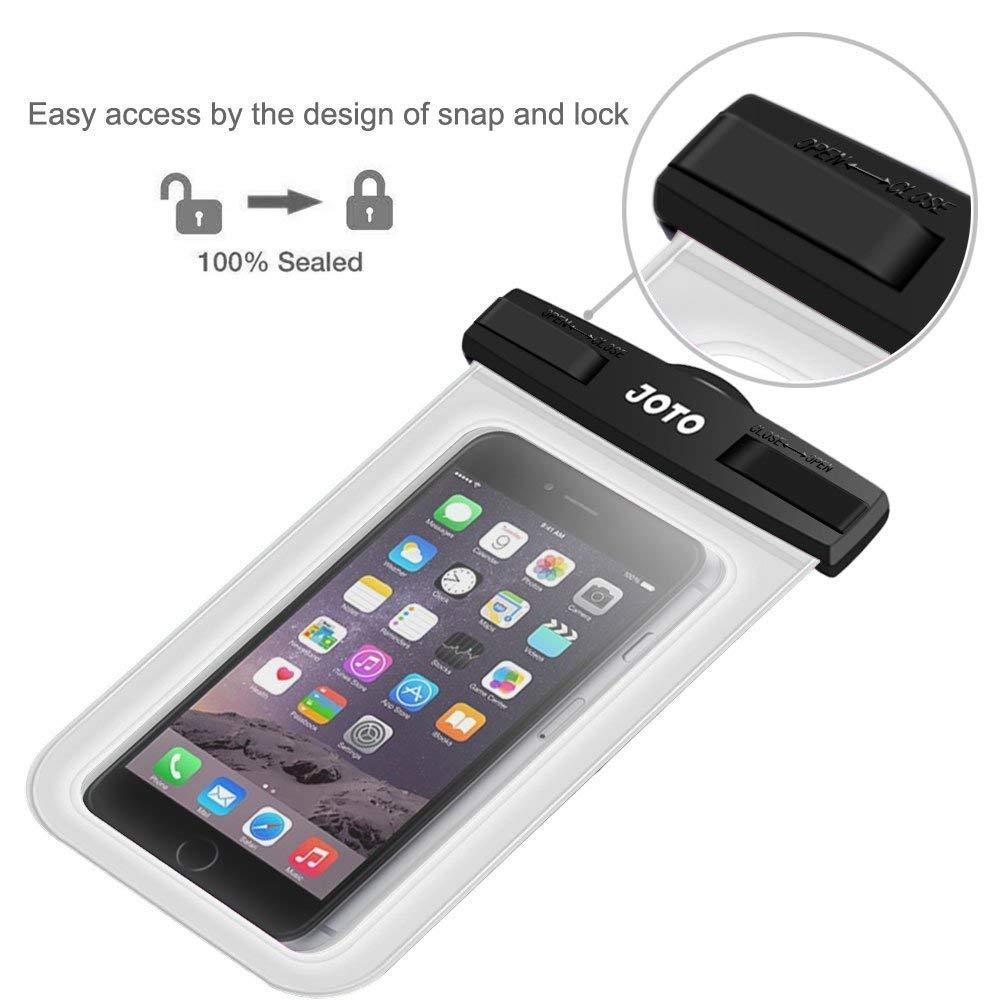 LG 6S Sony HTC S6/note 5/4 Nokia Joto il cellulare Dry bag sacchetto per Apple iPhone 6S Motorola fino a 15,2/cm di diagonale se 5S 7 Custodia universale impermeabile Plus Samsung Galaxy S7