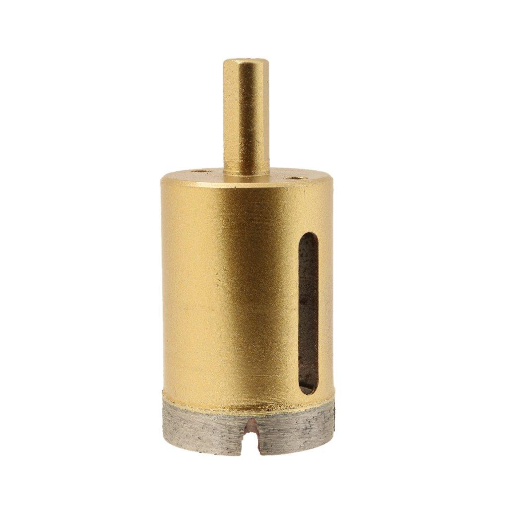 20mm Blesiya Fliesenbohrer Stein Bohrer Glasbohrer Porzellan Lochs/äge Diamant Lochs/äge Diamantbohrer Werkzeuge Keramik Hohlbohrkrone
