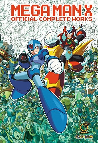 Mega Man X: Official Complete Works HC cover