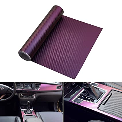 Amazon com: ATMOMO Purple and Blue Chameleon Auto Car
