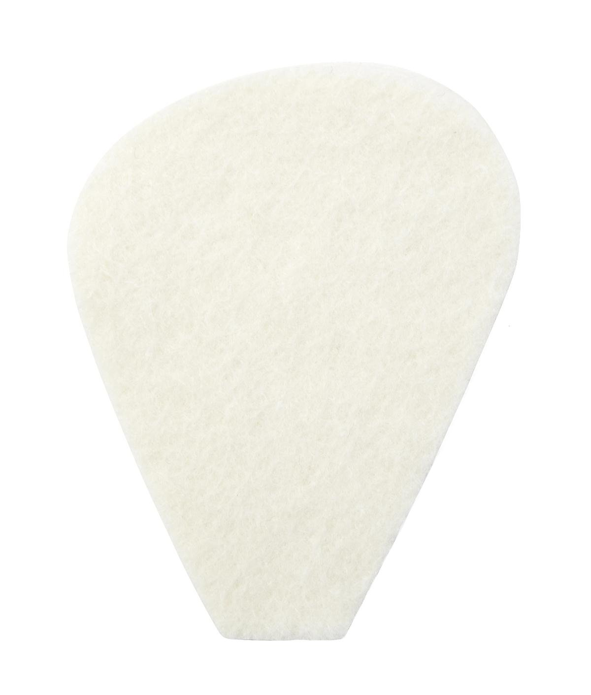 MooreBrand Adhesive Metatarsal Pedi-Pads, White Felt, 106-A, 1/4 Inch Thick - 1/Pack of 100