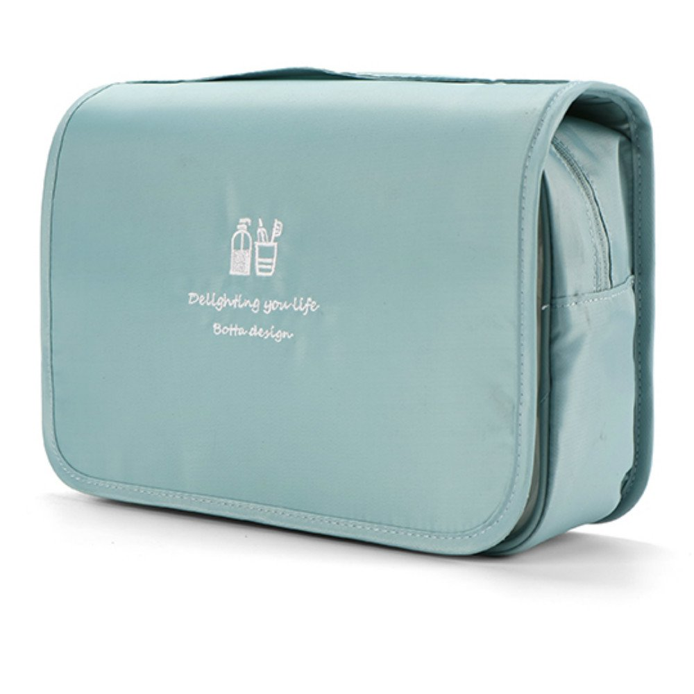 Travel Toiletry Bag with Hanging Hook,Portable Travel Makeup Bag,Cosmetic Organizer Bag for Personal Items