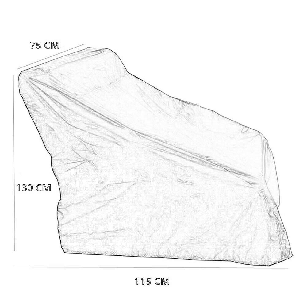 Color : Gray, Size : 100x75x100CM Personnalis/é Couverture De Meubles De Jardin Chaise en Rotin Couverture /Étanche Protection Solaire Fauteuil Roulant /Électrique Housse De Protection