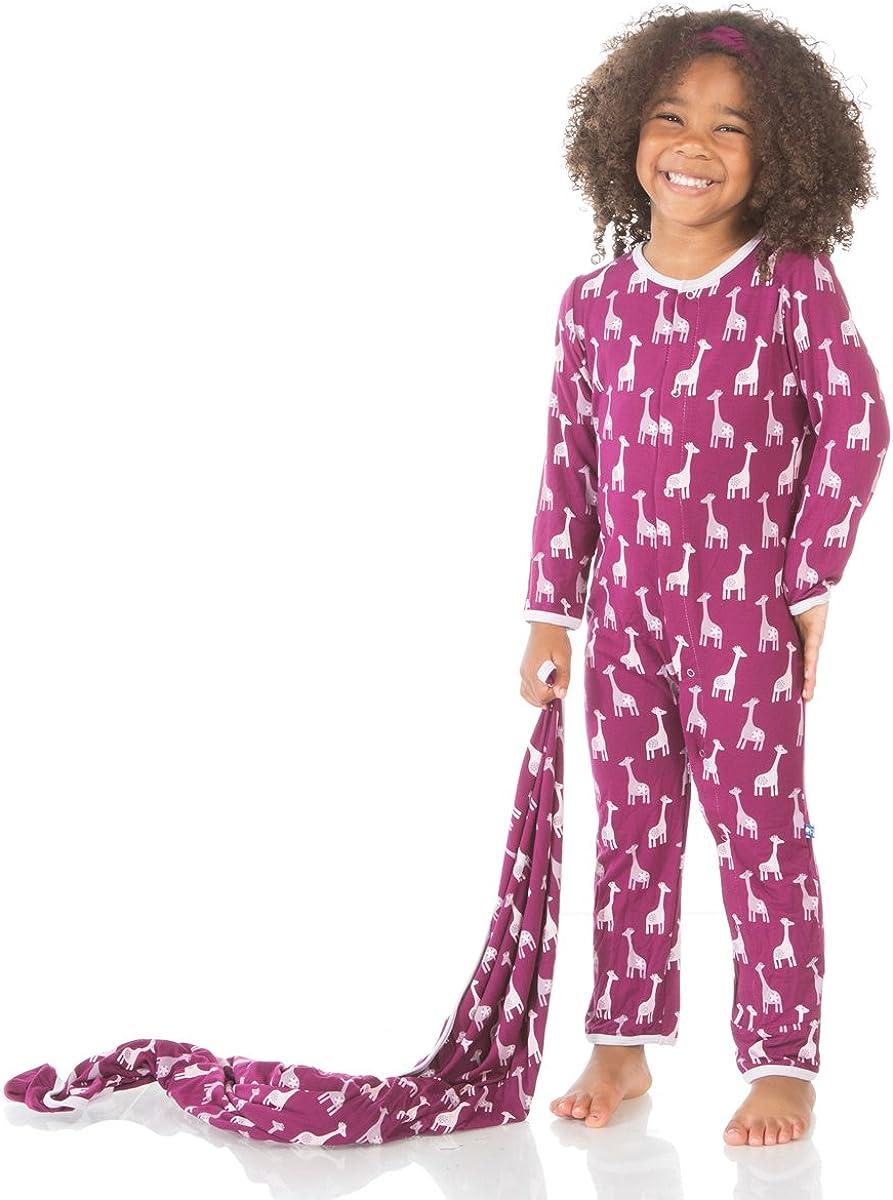 Kickee Pants Girls Print Coverall Prd-kpca103s16d2-gast