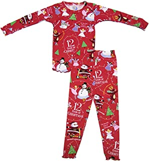 product image for Books to Bed 12 Days Girls Pajama Set