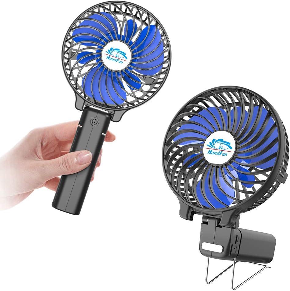 Mini Fan Ventilator USB Tragbar Lüfter Handventilator KühlerTisch Ventilator