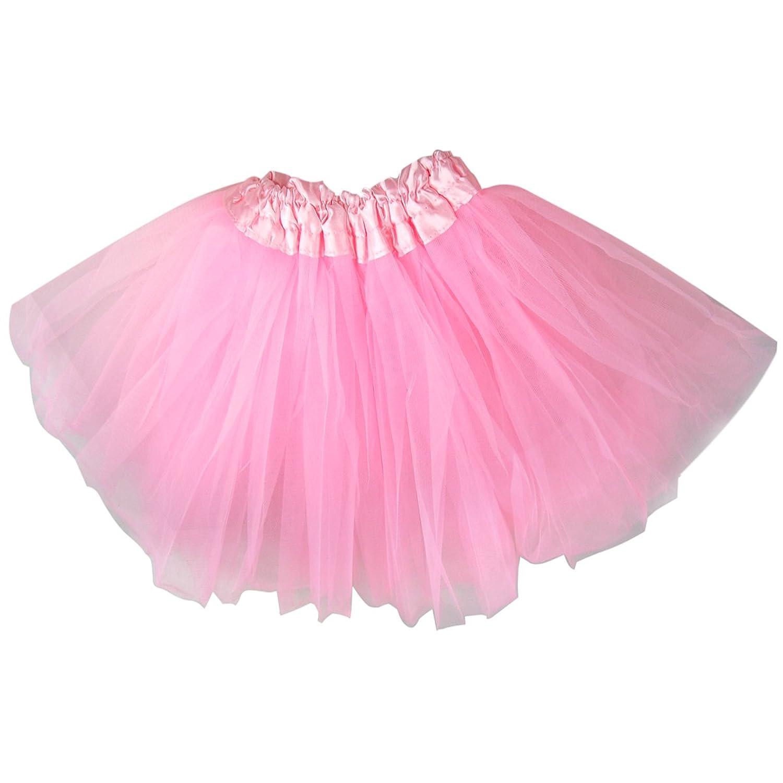 Chinkyboo Fashionable Fancy Dress Kids Girls Tutu Skirt Dancewear Princess Chiffon Pink Amazoncouk Clothing