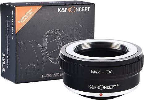 Bague d/'adaptation manuelle lens ring objectif Nikon AI vers Boitier Fujifilm FX
