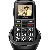 artfone Teléfono Movil para Personas Mayores con Teclas Grandes, Móviles para Ancianos con Doble SIM y SOS Botón…