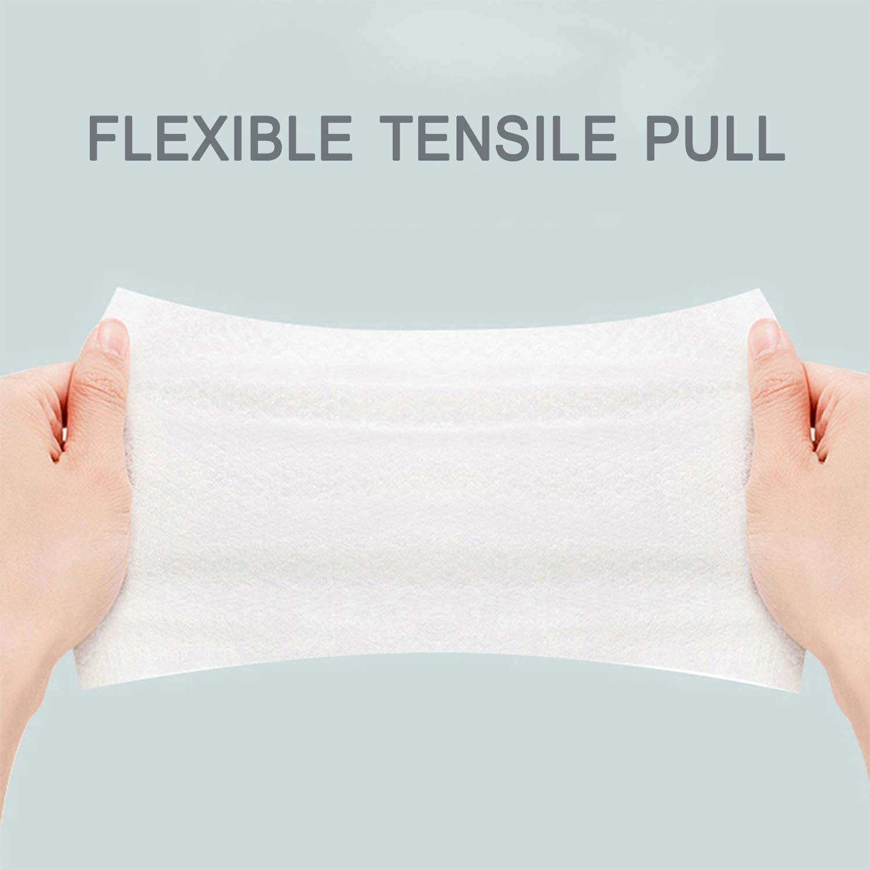 muebles toallitas desechables toallitas h/úmedas para desinfectar manos Toallitas con alcohol al 75/% asiento de inodoro y superficies paquete de 6 toallitas con alcohol