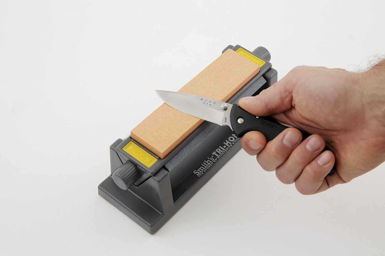 Smith's TRI-6 Arkansas TRI-HONE Sharpening Stones System by Smith's (Image #3)