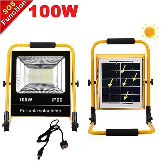 Foco LED Proyector Portatil 100W, Proyector De Construcción ...