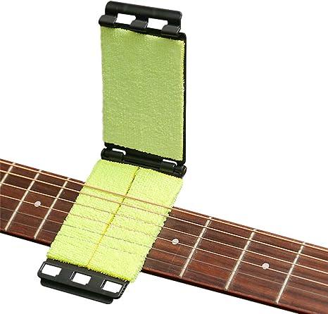 Limpiador de cuerdas de diapasón de guitarra Herramienta de ...