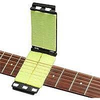 Limpiador de cuerdas de diapasón de guitarra Herramienta de mantenimiento Limpiador de cuerdas de instrumentos Cuidado de mantenimiento para guitarra / bajo / mandolina / ukelele