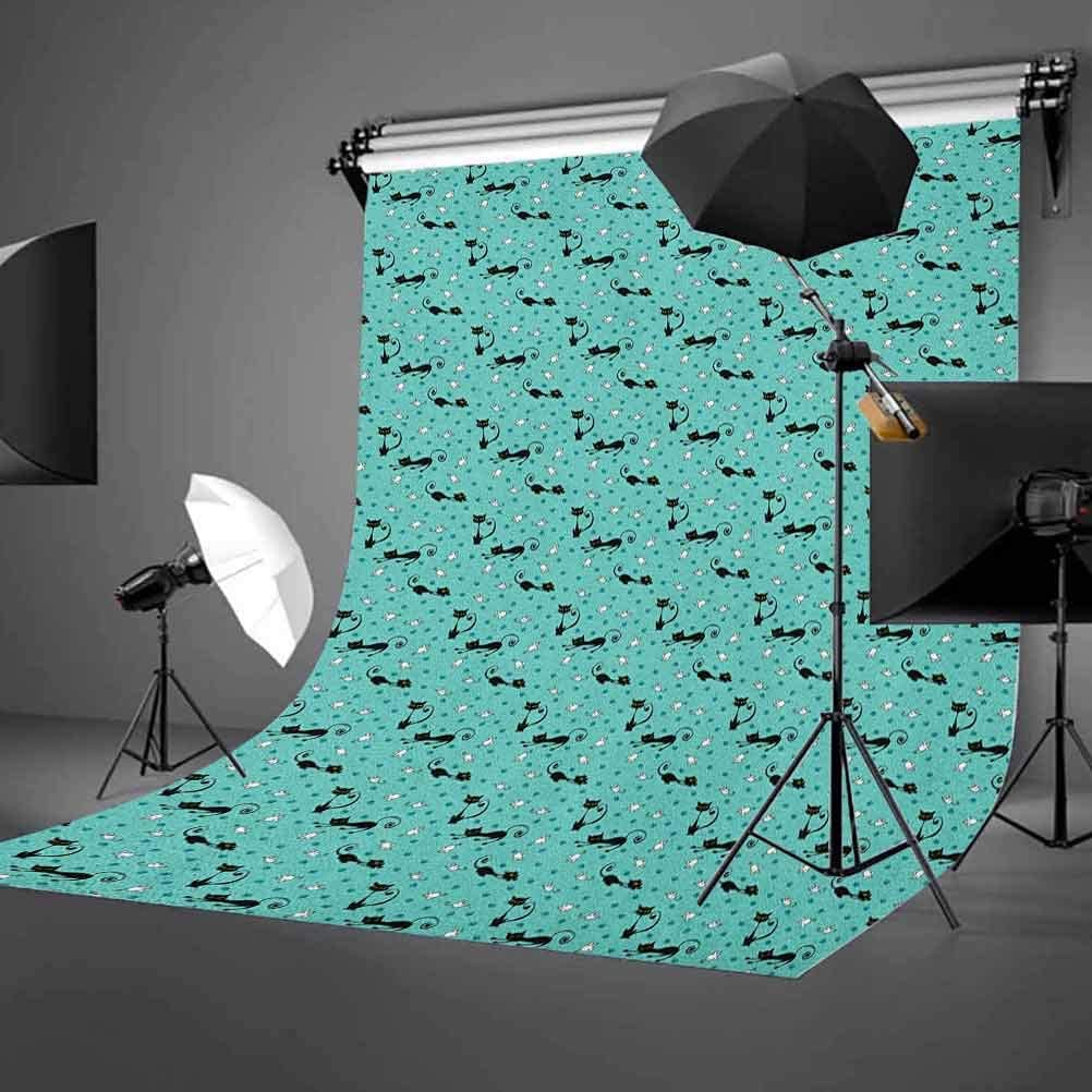 7x10 FT Landscape Vinyl Photography Backdrop,Bridge and Old Boat on Riverside Distressed Paint Style Nostalgic City Picture Background for Photo Backdrop Baby Newborn Photo Studio Props
