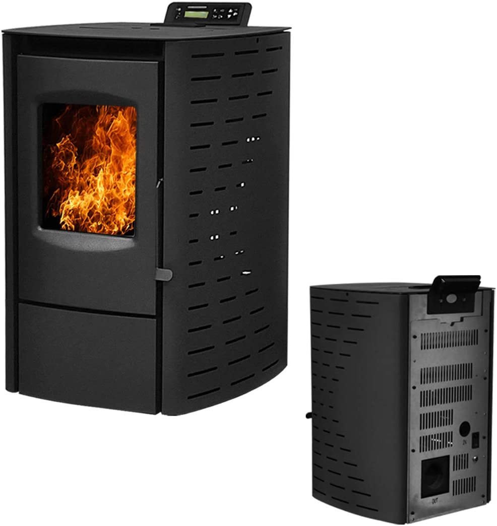 Deari Serenity Wood Pellet Stove - Electric Fireplace Heater with Smart Controller Nextstep