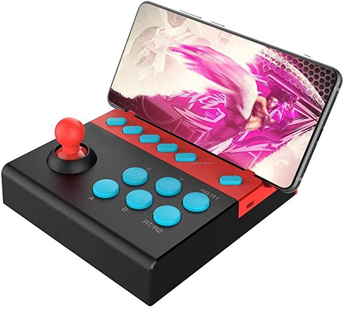 Mando de Juego inalámbrico con Bluetooth 4.0 Arcade, 15 Horas de Juego, Compatible con Tablet Android iOS Smart TV (Negro): Amazon.es: Electrónica