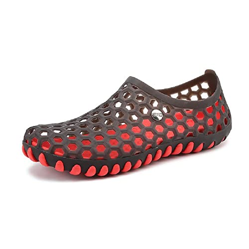 Men's Sandals Hollow-out Breathable 2017 Summer Hole Slippers Garden Massage Beach Shoes