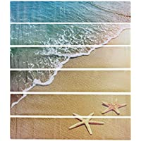 Rurah Creative Starfish Beach DIY Stairs Stickers Removable Waterproof Stairs Wallpaper Decor Home Decorations