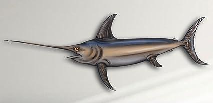 amazon com swordfish 14 inch acrylic fish mount and wall hanging