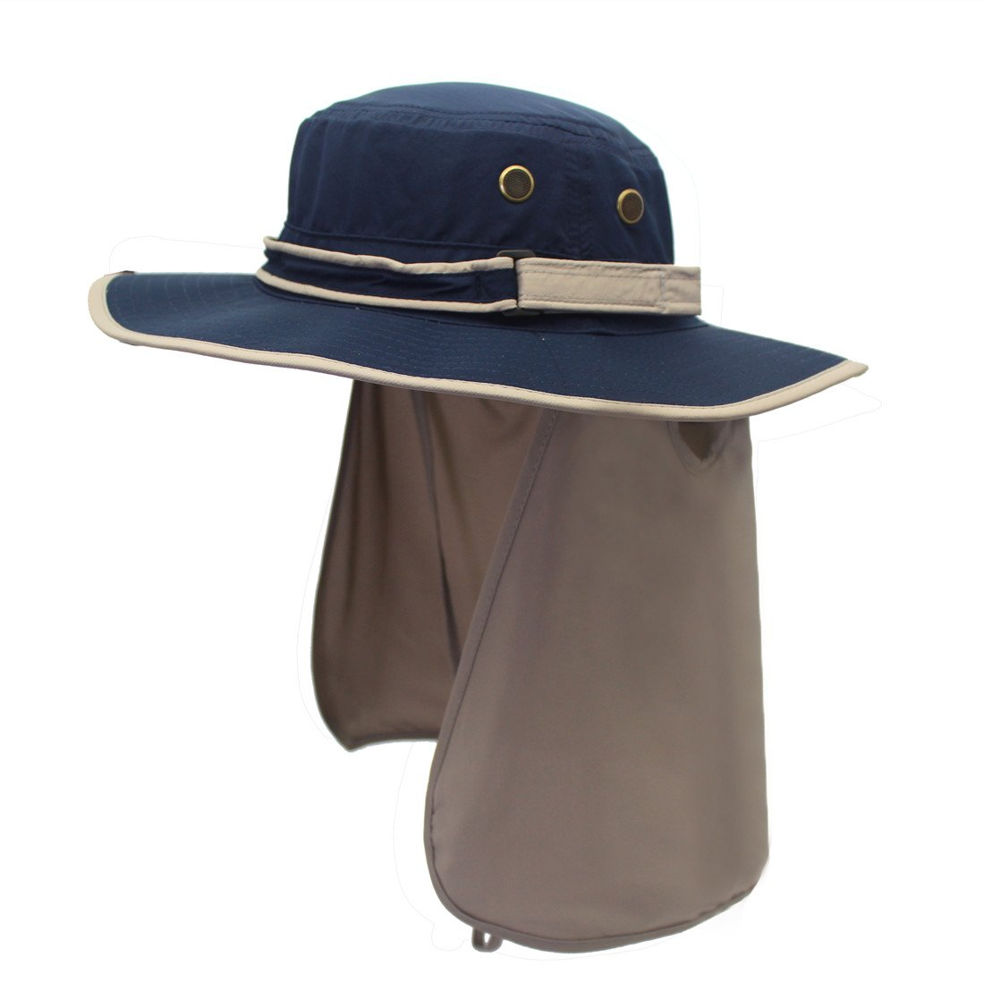 39dc66aa91c Decentron Unisex Quick Drying UV Protection Outdoor Sun Hat with Flap Neck  Cover product image