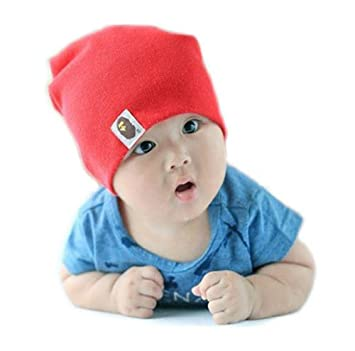 1200e70e5e5 Cute Candy Color Babies   Kids  Cotton Beanie  Hat  Cap (Model ...