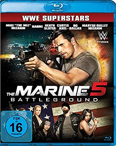 The Marine 5 - Battleground [Blu-ray]