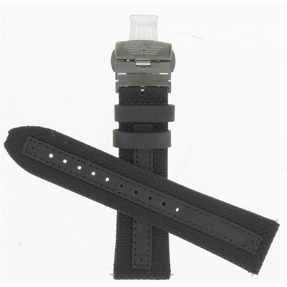 Swiss Army 24mm Black Ballistic Nylon Strap
