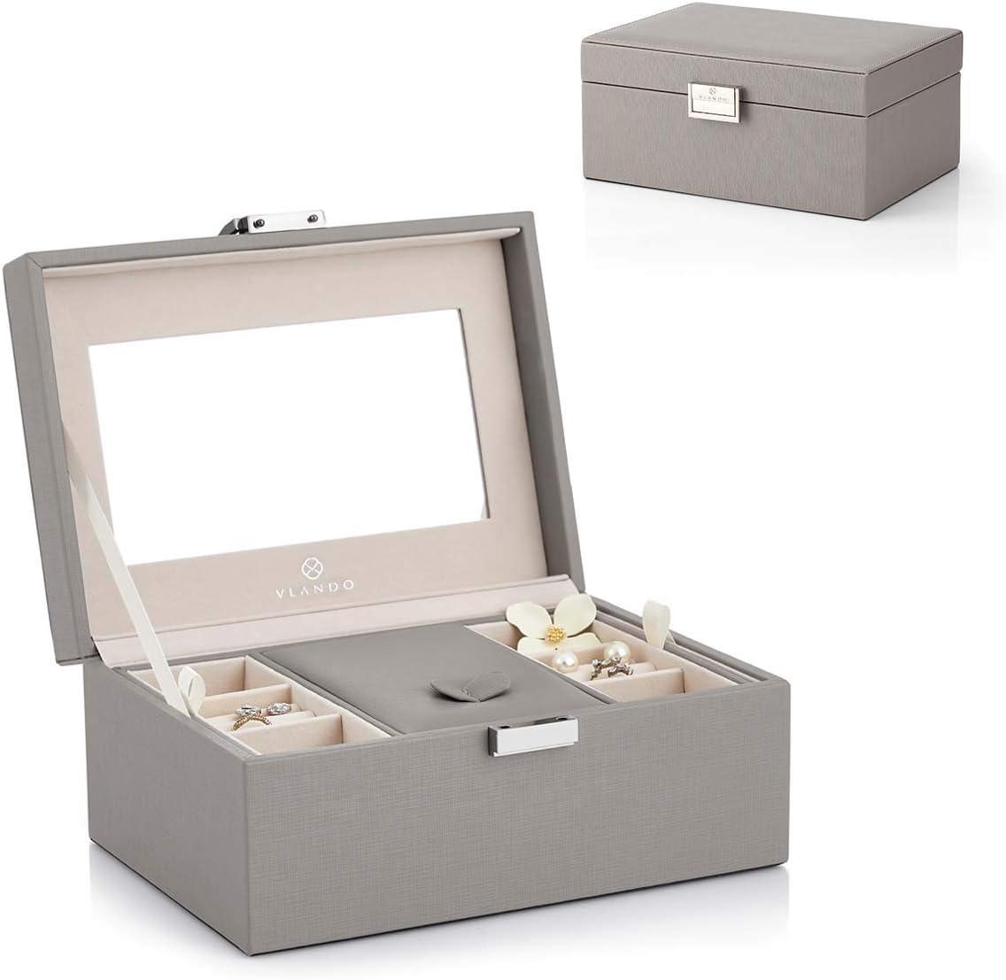 Vlando Jewerly Box VJ16002 (Updated Grey)