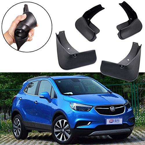 ud Flaps Splash Guard Fender Mudguard for Buick Encore 2017 2018 ()