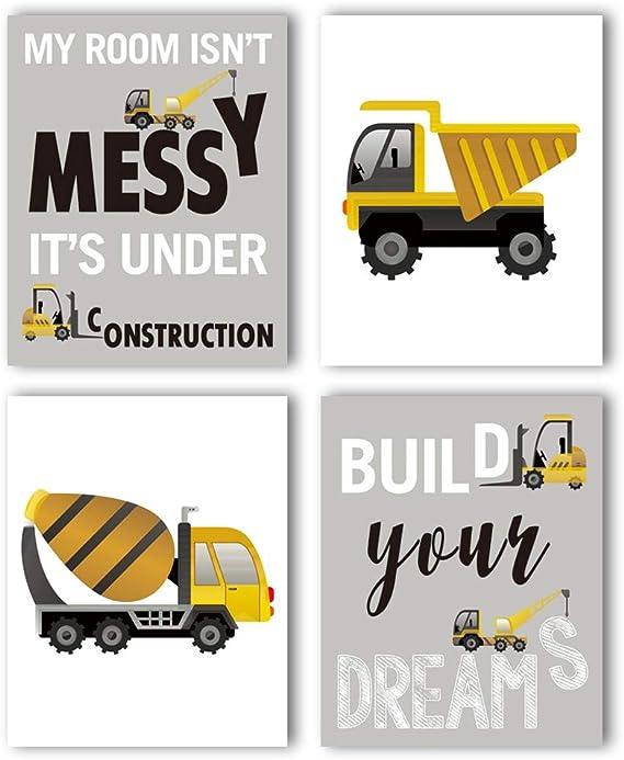 Track-Type Bulldozer Art Print // Canvas Print F Poster Wall Art Home Decor