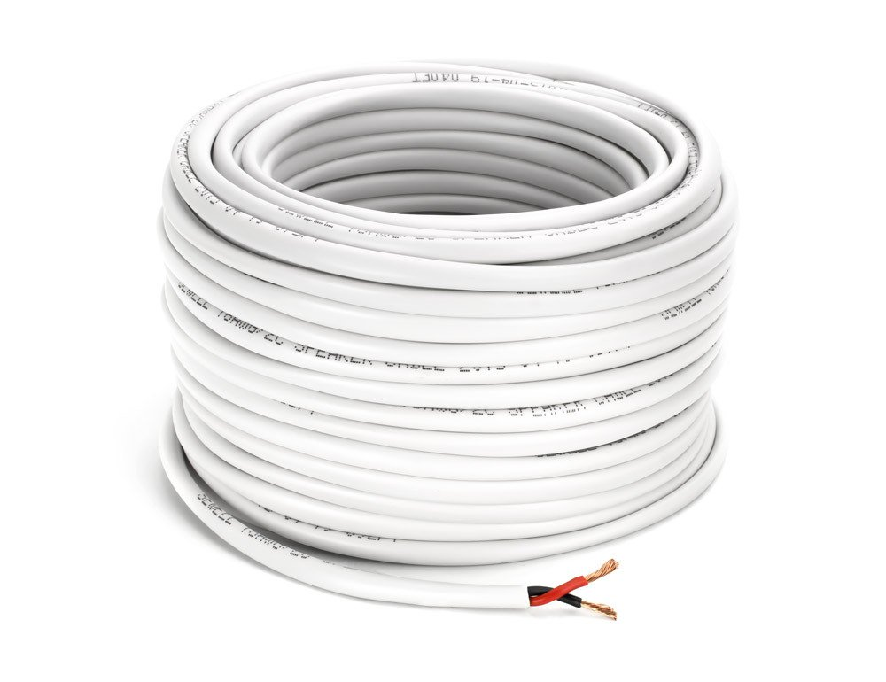 Amazon.com: Speaker Cable, Bulk, 16/2 (16 Awg, 2 Conductor), High ...
