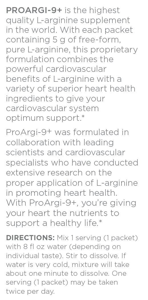 ProArgi 9 Plus Citrus Berry 30 Single Serve 4 Boxes Pack Support Heart Health 4