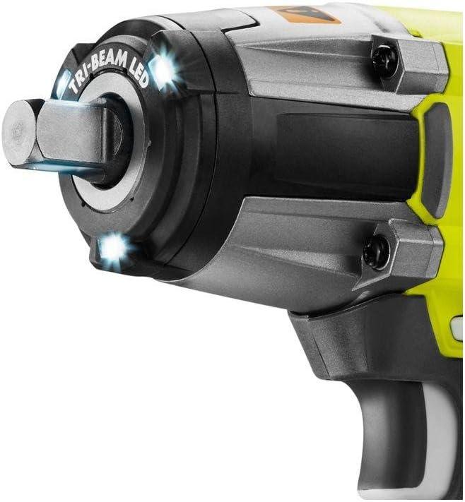 Ryobi P1833 3-Speed 1 2-Inch Impact Wrench Kit