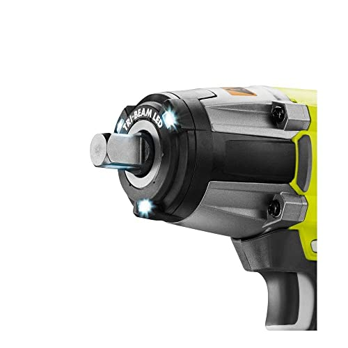 Ryobi P1833 3-Speed 1 2-Inch Impact Wrench Kit