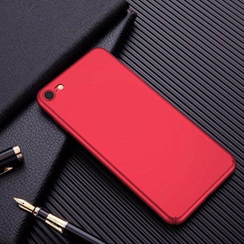 Funda iPhone 7,Manyip Alta Calidad Ultra Slim Anti-Rasguño y Resistente Huellas Dactilares Totalmente Protectora Caso de Plástico Duro Cover Case [Skin Series](YQ1-3) D