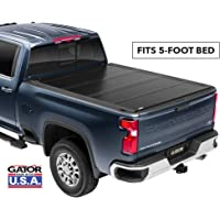 Gator FX Hard Quad-Fold Truck Bed Tonneau Cover | 8828126 | Fits 2015 - 2020 GM Colorado/Canyon 5' Bed | Made in the USA