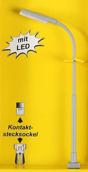 E63 Viessmann H0 6090 Lampe Leuchte Peitschenleuchte *geprüft*