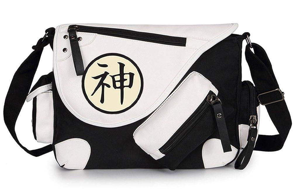 Gumstyle Dragon Ball Classic Shoulder School Bag Anime Cosplay Messenger Bag Black