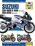 Suzuki GSX-R600, 750 and 1000 Service and Repair Manual: 2001-2002 (Haynes Service and Repair Manuals) by Mather, Phil published by Haynes Manuals Inc (2003)