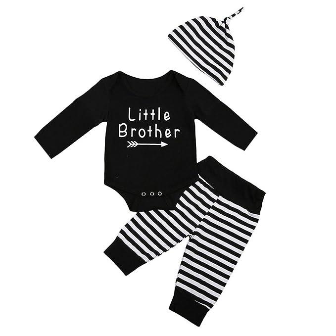 8c7373cf525f Amazon.com  Little Brother New Crew Clothing Set Newborn Toddler ...
