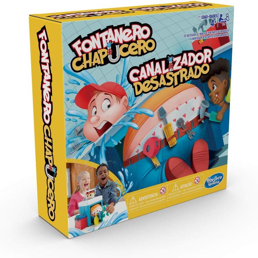 Hasbro Gaming - Juego infantil Fontanero chapucero (Hasbro ...
