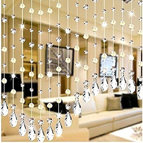 W Fashion shop Crystal Chandelier Teardrop Prisms Pendants Pack of 20