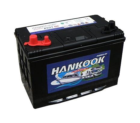 Hankook 105Ah nevera a batería de ciclo profundo, 12 V 900CCA, 250 ...