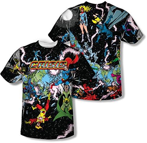 DC Crisis Variant Sublimated T-Shirt- XXXLarge