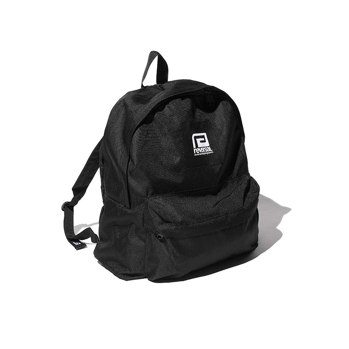[REVERSAL (リバーサル)] バックパック BOX LOGO BACK PACK ボックスロゴ デザイン メンズ レディース [RV19SS046]  ブラック B07P437NKG