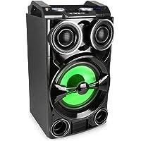 Fenton LIVE102 Party Station 300W USB-/BT-Mediaplayer RGB-LED Fernbedienung