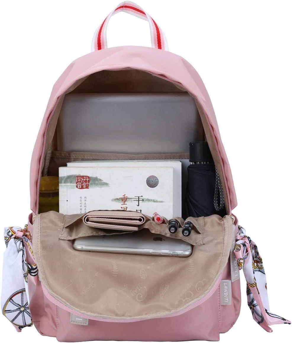 Mocha weir JIAYBL Sac /à Dos bookbags /école Enfants College Backpack Voyage Bleu 03