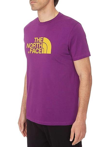 The North Face Mens fácil Camiseta pequeña Iris Morado: Amazon.es ...