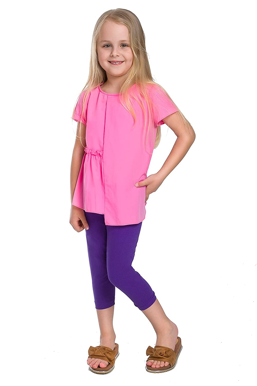 Hi. Mamá Cropped Niños 13 3 3/4/4 Leggings Kids de algodón Basic ...